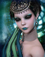 Opulence of a Vintage Aeon by RavenMoonDesigns