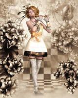 Floral Harmonies by RavenMoonDesigns