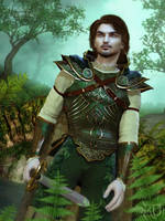 Guardian of the Green Wood by RavenMoonDesigns