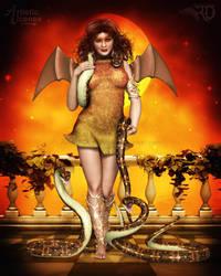 Serpents by RavenMoonDesigns