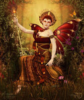 Queen Titania by RavenMoonDesigns