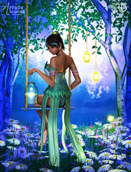 Catching Fireflies by RavenMoonDesigns