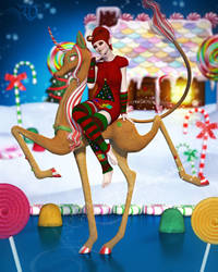 Sweetened Holiday Fun by RavenMoonDesigns