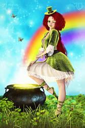 Charming Leprechaun Lass by RavenMoonDesigns