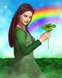 Luck of the Irish Lass by RavenMoonDesigns