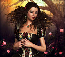 The Woodland Princess by RavenMoonDesigns