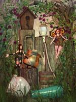 Pixie Bubbler by RavenMoonDesigns