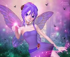 Pixie Sparklies by RavenMoonDesigns