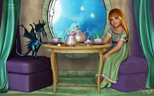 A Little Tea Party by RavenMoonDesigns