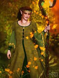 The Autumn Shepherdess by RavenMoonDesigns