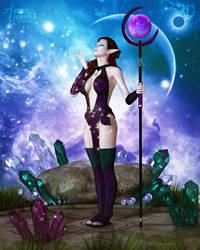 Drawing In Celestial Energies by RavenMoonDesigns