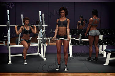 Pumping Iron by RavenMoonDesigns