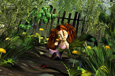 Li'l Garden Pixie by RavenMoonDesigns