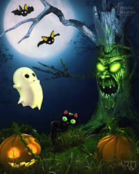 Spooky Li'l Haunts by RavenMoonDesigns