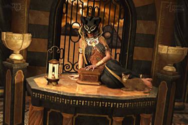 Keeper of Mysteries by RavenMoonDesigns