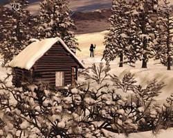 Snowy Serenity by RavenMoonDesigns