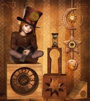 The Li'l Timekeeper by RavenMoonDesigns