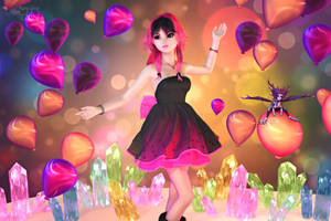 Soiree at the Crystal Cavern by RavenMoonDesigns