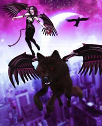 Urban Sentinels by RavenMoonDesigns
