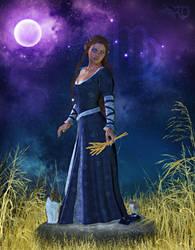 Zodiac Series: Virgo ~ Virgin by RavenMoonDesigns
