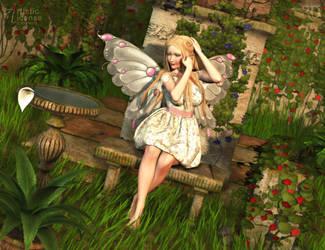 Serene Gardens by RavenMoonDesigns