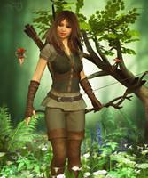 In the Faerie Wood by RavenMoonDesigns