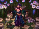 A Blossoming Oasis by RavenMoonDesigns