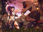 Taming the Beast by RavenMoonDesigns