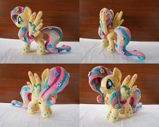 MLP Rainbow Power Fluttershy plush by Egalgay