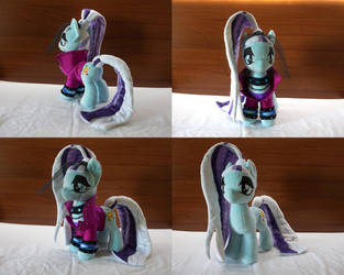 MLP Coloratura handmade plushie by Egalgay