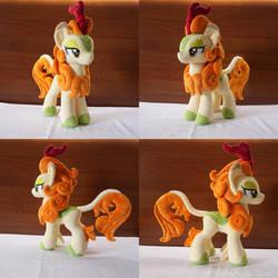 Mlp Autumn Blaze handmade plush by Egalgay