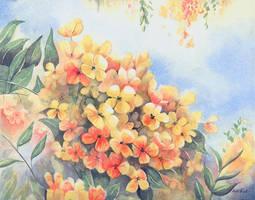 Hawaiian Blooms by KelliRoos