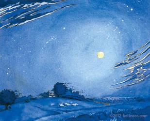 Moonlit Night by KelliRoos