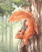 Tree Runner by KelliRoos