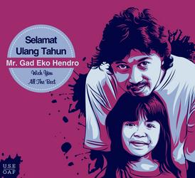 happy birthday mr.gad eko hendro... by Yusuf-Graphicoholic