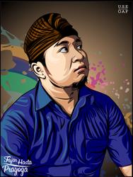 MR.FAJAR HASTA PRAYOGA IN VECTOR by Yusuf-Graphicoholic