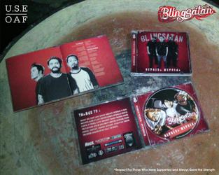 Blingsatan  BERBEDA MERDEKA cd packaging by Yusuf-Graphicoholic
