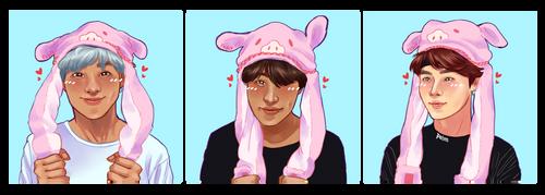 Piggy Icons by fox-bro