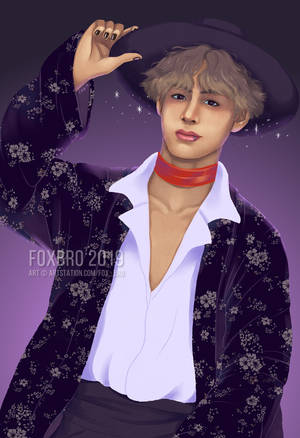 [Commission] Witchy Taehyung by fox-bro