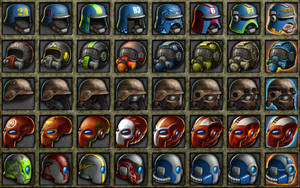 Deadlands: 3000 Helmets 2 by quellion