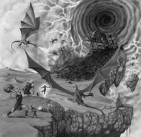 Demonwars Battle by quellion