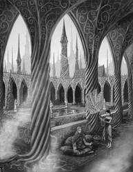 Dreamspinner Sanctum by quellion