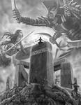 Nemesis and the Omeganauts by quellion