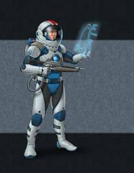 Sci-Fi Guy by quellion