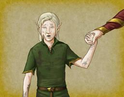 Elf Child by quellion