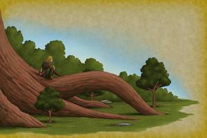 Sequoia Saplings by quellion
