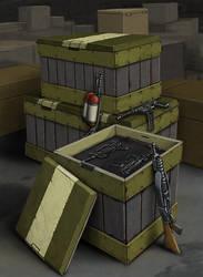 Weapon Supplies by quellion