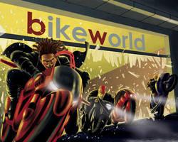 Hit the Bike Lot by quellion