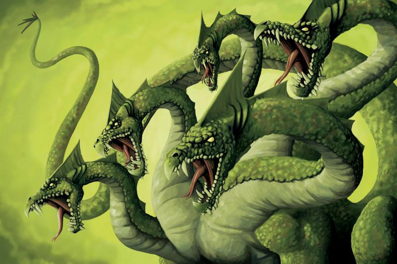 Hydra by quellion