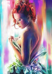 Scarlett Johansson by ZLynn